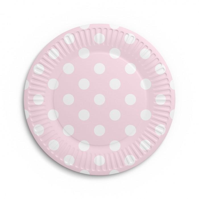 Товары для праздника Nd Play Набор бумажных тарелок Горох 6 шт. набор бумажных форм для кексов красный узор диаметр дна 5 см 50 шт