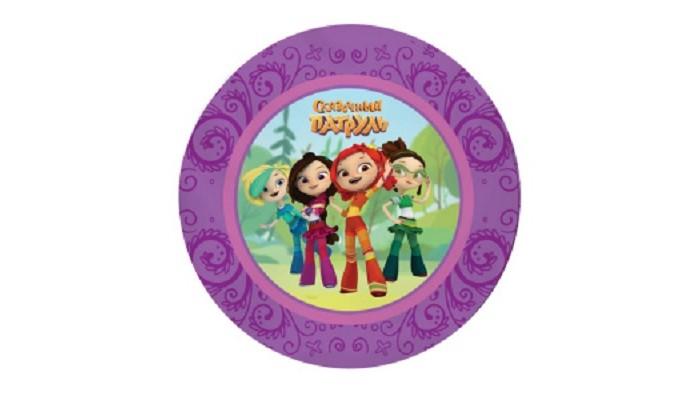 Товары для праздника Nd Play Сказочный патруль Набор бумажных тарелок 6 шт. набор бумажных форм для кексов красный узор диаметр дна 5 см 50 шт