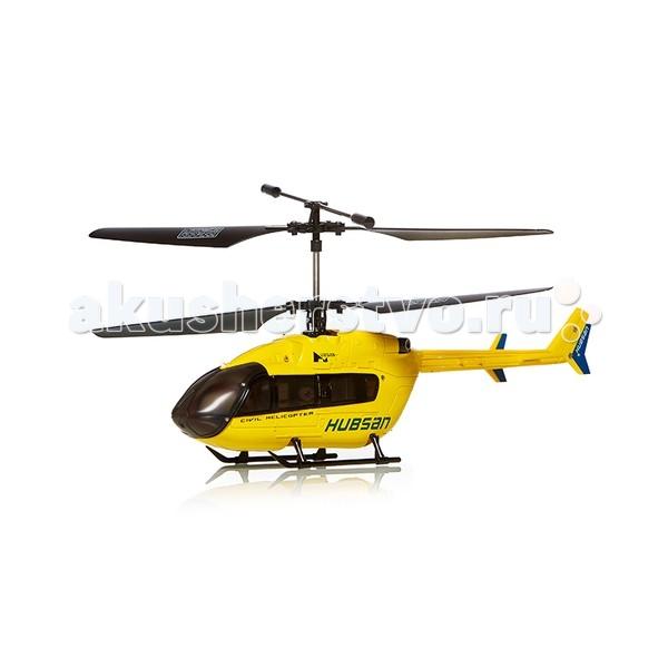Maxitoys Радиоуправляемый вертолет HubsanРадиоуправляемый вертолет HubsanMaxitoys Радиоуправляемый вертолет Hubsan со встроенным гироскопом и высококачественной механику и электронику.   Пульт управления с частотой 2.4 ГГц обеспечивает дальность до 300 метров.   Время полета около 8 минут.<br>
