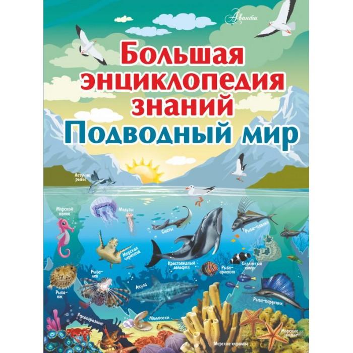 Купить Энциклопедии, Издательство АСТ Большая энциклопедия знаний. Подводный мир