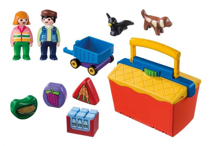 Купить Конструкторы, Конструктор Playmobil На рынке Возьми с собой