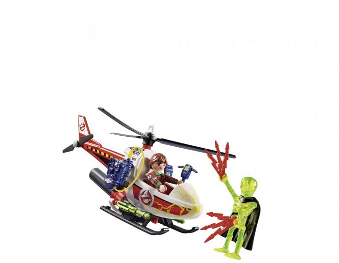 Конструктор Playmobil Охотники за привидениями Вэнкман с вертолетом