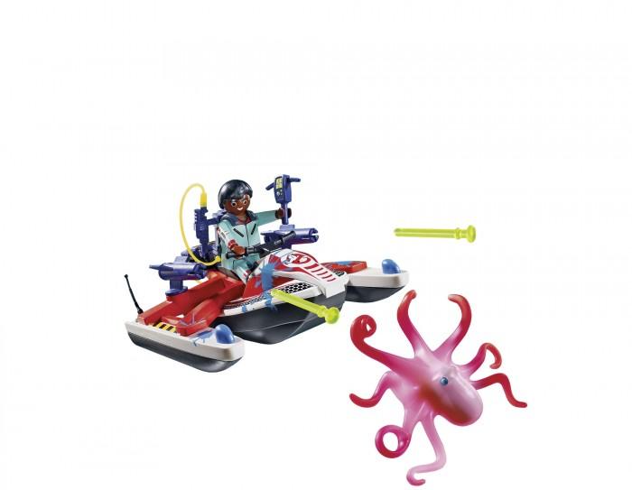 Конструктор Playmobil Охотники за привидениями Зеддемор с гидроциклом