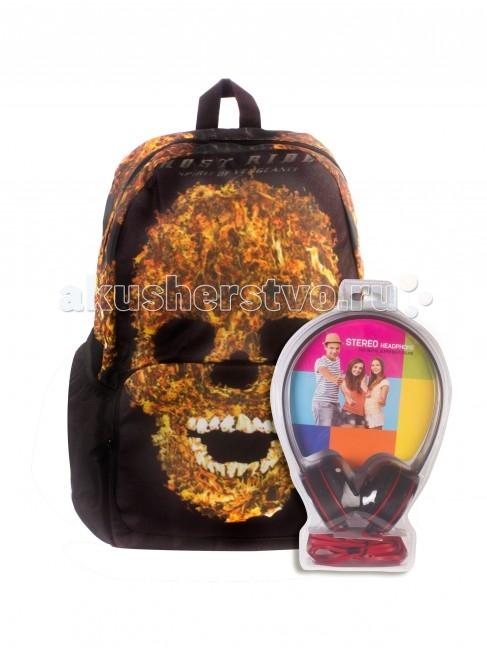 Школьные рюкзаки 3D Bags Рюкзак Призрачный гонщик с наушниками школьные рюкзаки 3d bags рюкзак мозаика синяя