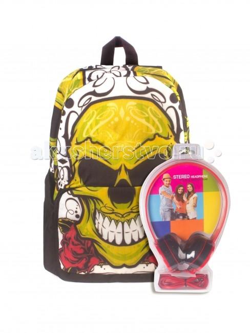 Школьные рюкзаки 3D Bags Рюкзак Роджер-Роза с наушниками школьные рюкзаки 3d bags рюкзак мозаика синяя