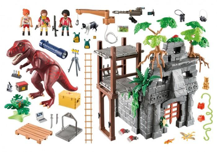 Конструктор Playmobil Динозавры Затерянный храм с тиранозавром