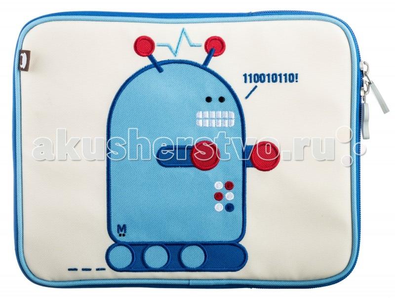 Beatrix Чехол для Планшета Pixel-RobotЧехол для Планшета Pixel-RobotЧехол для Планшета Pixel-Robot IP-7859-26  Яркий и удобный чехол для планшета с вышитой аппликацией.   Держите Ваш любимый планшет в безопасности.   Внутри водонепроницаемая, мягкая, бархатистая подкладка.  Материал - 100% нейлон  Размер - 26.7х21.6х2.5 см  Beatrix NY – это яркие аксессуары для модных современных детей. Недаром вещи бренда пользуются такой популярностью - даже звездные мамы предпочитают рюкзачки, чехлы для планшетов, ланч-боксы и другие интересные предметы от Beatrix NY! Основное кредо марки – простота, качество и веселые принты. Все вещи от Beatrix NY отличаются лаконичной формой, предельной эргономичностью и яркими сочными красками. А веселые герои бренда – божья коровка, сова, обезьянка и другие – стали настоящими любимцами детей по всему миру. Beatrix NY придает большое значение защите окружающей среды, а также здоровью и безопасности детей: можно не сомневаться, что при производстве изделий этого бренда используются только лучшие материалы.<br>