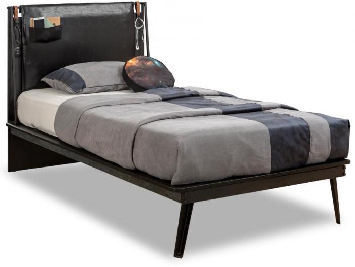 Купить Кровати для подростков, Подростковая кровать Cilek Dark Metal 200х120 см