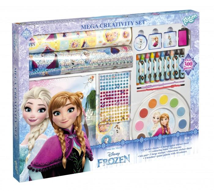 Наборы для творчества Totum Набор для творчества Frozen mega creativity set 3 в 1