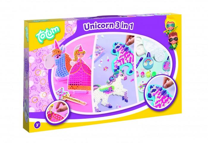 Наборы для творчества Totum Набор для творчества Unicorn set 3 в 1