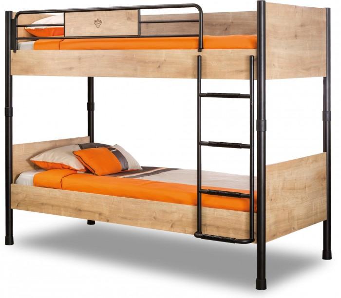 Купить Кровати для подростков, Подростковая кровать Cilek двухъярусная Mocha