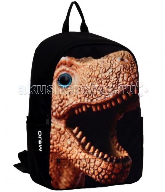 Mojo Pax Рюкзак Dino with 3D eyeРюкзак Dino with 3D eyeРюкзак Dino with 3D eye Mojo Pax  Вместительный рюкзак с оригинальным принтов в виде устрашающей морды динозавра всегда привлечет взгляды окружающих и подчеркнет вашу индивидуальность!   Изюминкой этого рюкзака является Глаз 3D, который делает этот рюкзак уникальным.  Материал - 900D Полиэстер  Размер - 43х30х16 см  MOJO – это бьющая через край энергия молодости, это современный, яркий, смелый стиль для тех, кто не привык сливаться с фоном. Бренд предлагает большой выбор рюкзаков, чехлов для планшетов и ноутбуков, кошельков, наушников и других аксессуаров. Подростки и молодежь любят продукцию MOJO за поистине уникальное сочетание качества, эргономичности, удобства и стопроцентно запоминающейся «внешности». Яркие, смелые, привлекающие к себе внимание принты, современные ткани, высококлассная фурнитура, безупречное качество пошива – эти вещи будут с вами – и будут на пике популярности - ни один год! Качество MOJO давно по достоинству оценили на Западе и в Европе – бренд любят и школьники, и студенты, и взрослые любители ярких вещей и яркой жизни.<br>