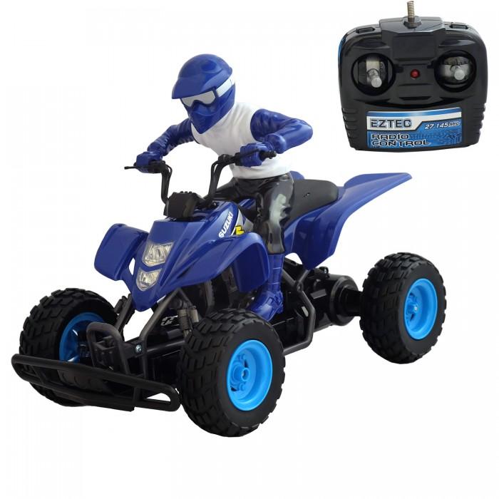 Радиоуправляемые игрушки Eztec Машинка на радиоуправлении Suzuki ATV 1:7