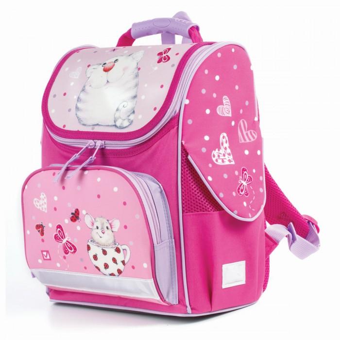 Купить Школьные рюкзаки, Brauberg Style Ранец c эргономичной спинкой Кошка и мышка