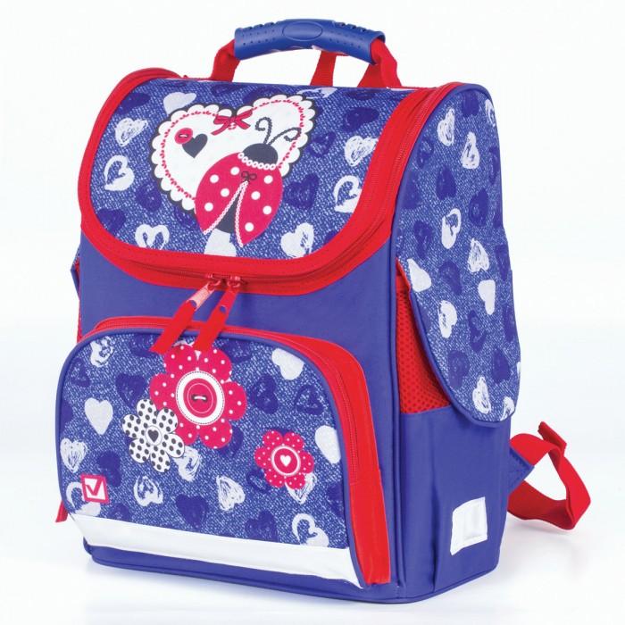 Купить Школьные рюкзаки, Brauberg Style Ранец c эргономичной спинкой Божья коровка