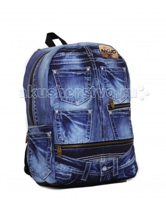 Mojo Pax Рюкзак Denim Jeans BPРюкзак Denim Jeans BPРюкзак Denim Jeans BP Mojo Pax  Кто же не любит джинсы? Джинсы любят все!  Этот жизнерадостный рюкзак от Mojo станет отличной деталью легкого, игривого, непосредственного городского стиля. Принт цвета денима отлично подойдет и юноше, и девушке.   Большой и вместительный, этот рюкзак не только поразительно смотрится, но и позволяет с комфортом носить с собой множество нужных вещей.  Материал - полиэстер/люминесцентная краска  Размер - 43х30х16 см  MOJO – это бьющая через край энергия молодости, это современный, яркий, смелый стиль для тех, кто не привык сливаться с фоном. Бренд предлагает большой выбор рюкзаков, чехлов для планшетов и ноутбуков, кошельков, наушников и других аксессуаров. Подростки и молодежь любят продукцию MOJO за поистине уникальное сочетание качества, эргономичности, удобства и стопроцентно запоминающейся «внешности». Яркие, смелые, привлекающие к себе внимание принты, современные ткани, высококлассная фурнитура, безупречное качество пошива – эти вещи будут с вами – и будут на пике популярности - ни один год! Качество MOJO давно по достоинству оценили на Западе и в Европе – бренд любят и школьники, и студенты, и взрослые любители ярких вещей и яркой жизни.<br>
