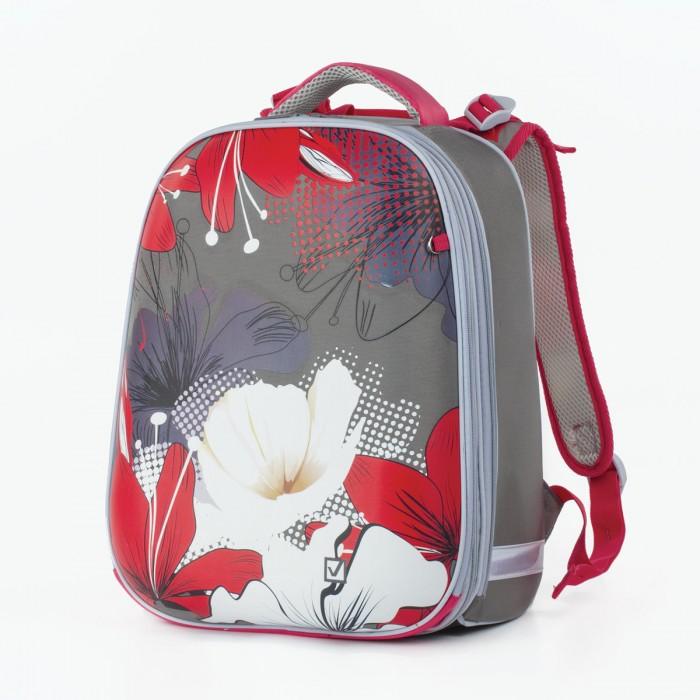 Купить Школьные рюкзаки, Brauberg Extra Ранец с 2-мя отделениями анатомическая спинка Цветы