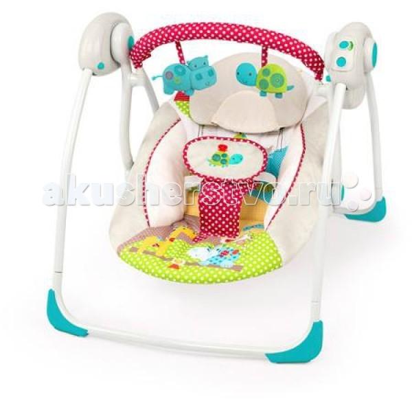 Детская мебель , Электронные качели Bright Starts Добрые друзья арт: 70238 -  Электронные качели