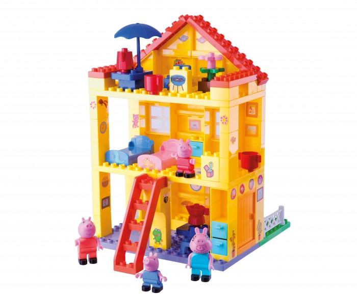 Конструкторы BIG Любимый дом Peppa Pig конструктор big игровая площадка peppa pig 57076