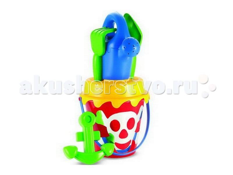 Игрушки в песочницу Ecoiffier Набор для песка Пираты écoiffier тележка для уборки с пылесосом ecoiffier
