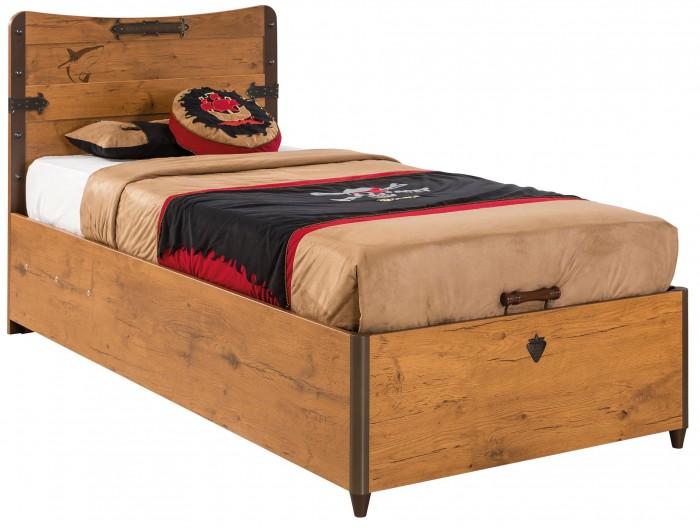 Кровати для подростков Cilek с подъемным механизмом Pirate 90х190 см
