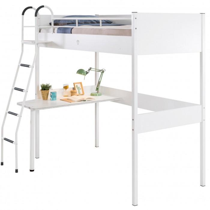 Купить Кровати для подростков, Подростковая кровать Cilek чердак Compact White