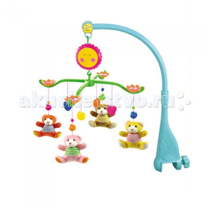 Мобили Henglei Мишки с заводным механизмом забавные машинки dickie с заводным механизмом