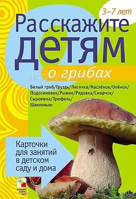Раннее развитие Мозаика-Синтез Расскажите детям о грибах раннее развитие мозаика синтез расскажите детям о космосе