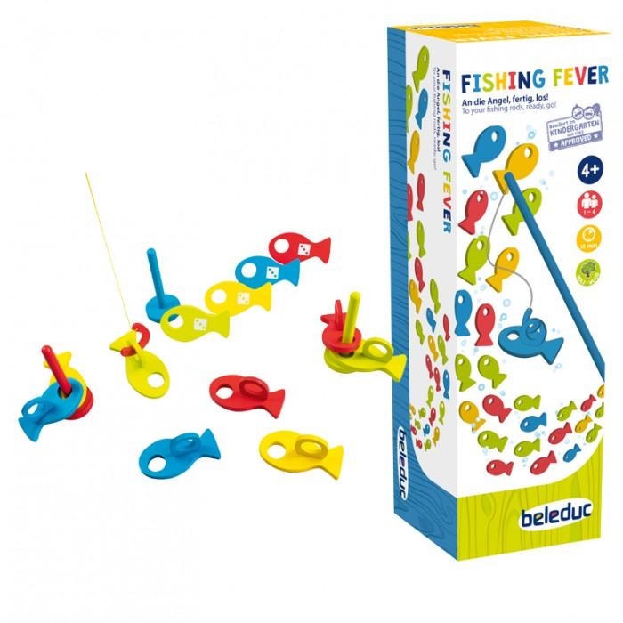 Деревянная игрушка Beleduc Развивающая игра Рыбалка фото