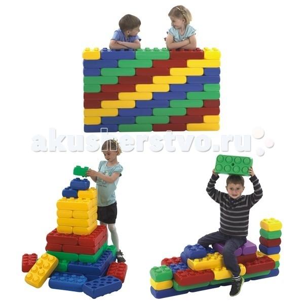 Конструктор Edu-Play Farm Big Block 48 шт.Farm Big Block 48 шт.Детский конструктор Edu-Play Farm Big Block позволит ребенку играть и вместе с тем улучшать основные навыки, такие как мелкая моторика рук, координация движений, образное мышление и цветовое восприятие.  Крупноблочный конструктор разработан для сбалансированного развития детей. В процессе игры дети развивают воображение и креативные идеи. Блоки конструктора достаточно большие. Количество игровых форм, которые можно собрать из набора или из нескольких наборов – безгранично. Конструктор может использоваться как внутри помещения, так и на улице.  Характеристики: детали большие, что позволит быстро создавать объекты безопасен высококачественные и экологически чистые материалы соответствует стандарту качества EN71  Количество: 48 шт. (12 кирпичей 2х2, 32 кирпича 2х4, 4 плоских кирпича)<br>