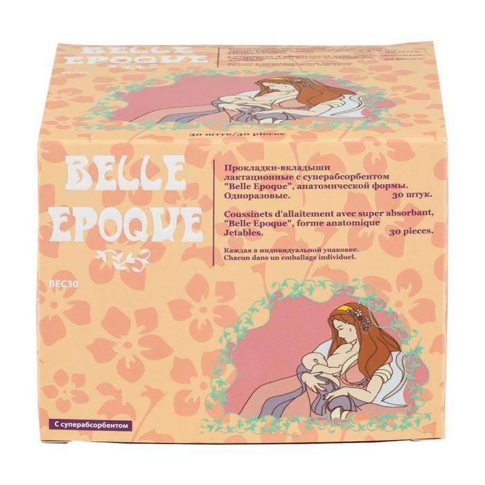 Гигиена для мамы Belle Epoque Прокладки-вкладыши лактационные с суперабсорбентом 30 шт. пелигрин прокладки для груди belle epoque с суперабсорбентом белый 30 шт