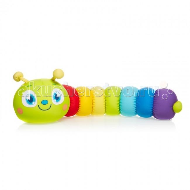 Подушки для малыша Maxitoys Подушка антистресс Гусеница Мира maxitoys подушка с ручками