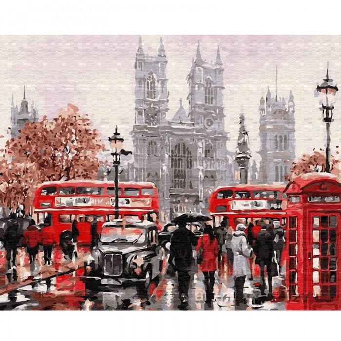 Купить Molly Картина по номерам Лондонский транспорт 40х50 см в интернет магазине. Цены, фото, описания, характеристики, отзывы, обзоры
