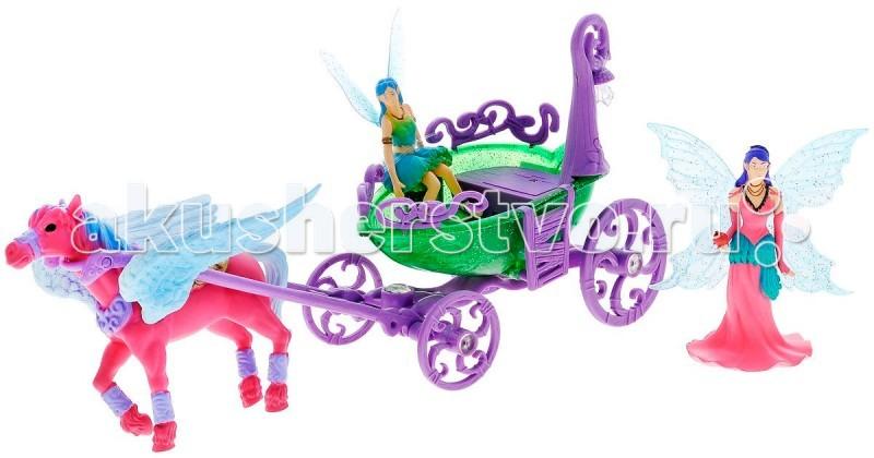 Игровые наборы Simba Magic Fairies Лошадка с каретой 4410389 simba simba filly мягкая лошадка эльф 30 см