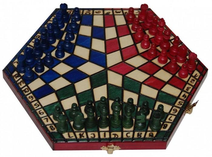 Madon Шахматы На троих малые