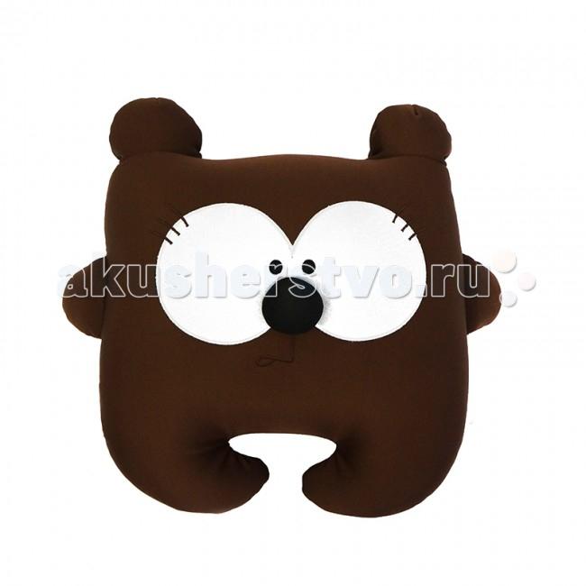 Подушки для малыша Maxitoys Подушка антистресс Медведь Потап 36 см maxitoys подушка с ручками