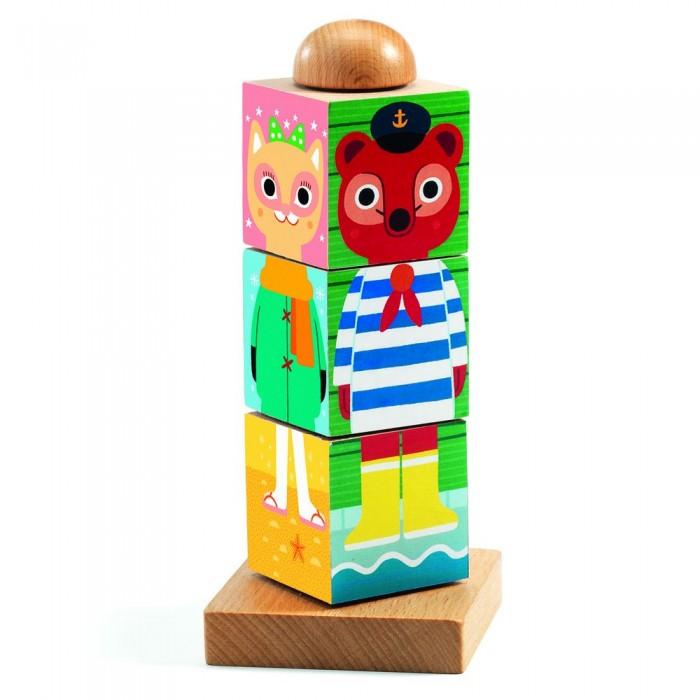 Деревянная игрушка Djeco головоломка Твистанимо