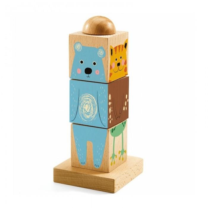 Деревянная игрушка Djeco головоломка Твистиз