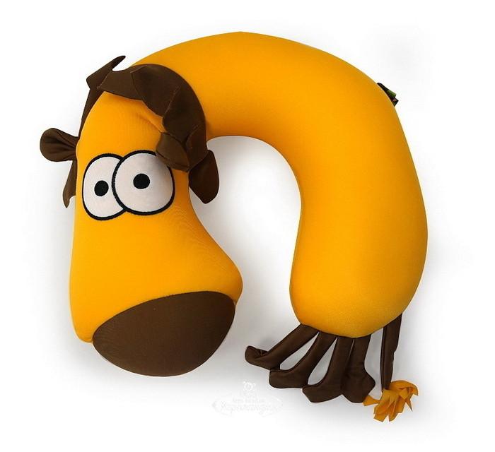 Аксессуары для автомобиля Maxitoys Подушка-подголовник антистресс Лев подушки декоративные maxitoys подушка подголовник жираф