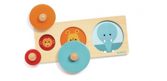 Купить Деревянные игрушки, Деревянная игрушка Djeco Рамка-вкладыш Размер