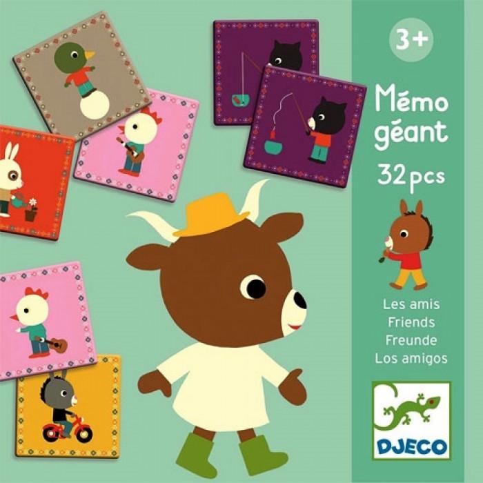 Купить Djeco Домино гигант Друзья в интернет магазине. Цены, фото, описания, характеристики, отзывы, обзоры