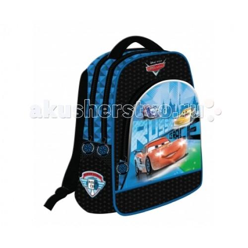 Развитие и школа , Школьные рюкзаки Disney Рюкзак 3 отделения Тачки Лед арт: 70696 -  Школьные рюкзаки