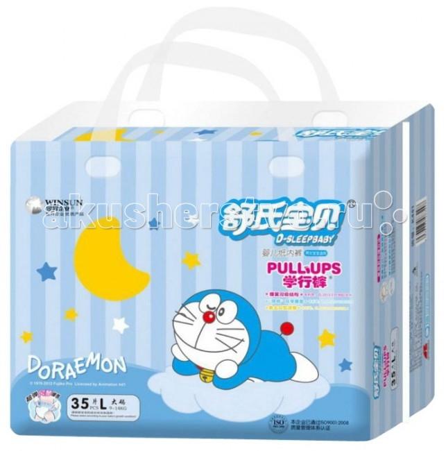 Подгузники Doraemon Подгузники-трусики L (9-14 кг) 35 шт.