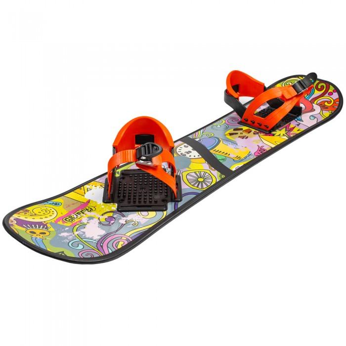 Зимние товары , Ледянки R-Toys Детский сноуборд с креплениями арт: 70713 -  Ледянки
