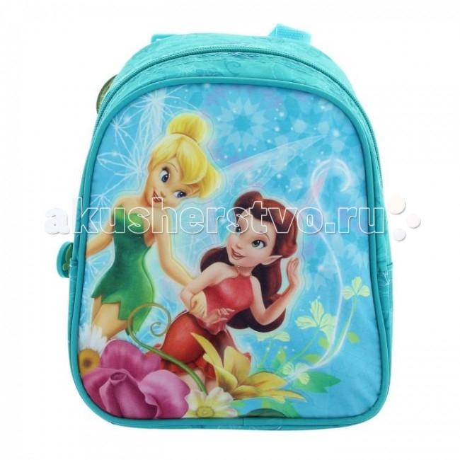 Школьные рюкзаки Disney Рюкзачок дошкольный Феи Бирюза
