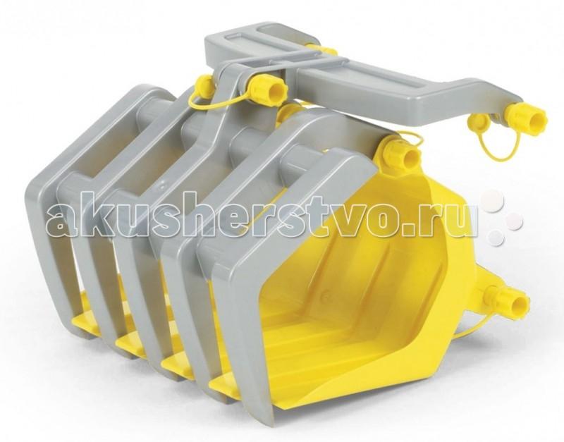 Rolly Toys Ковш для погрузчика Timber Loader 409679Ковш для погрузчика Timber Loader 409679Ковш для погрузчика Rolly Toys Timber Loader 409679 (желтый) является отличным дополнениям к тракторным средствам Rolly toys. С ковшом Rolly игра приобретет более реалистичный вид, что позволит юным водителям чувствовать себя совсем взрослыми.  Характеристика: Ковш для погрузчика подходит ко всем мини тракторам Rolly Toys. Фронтальный погрузчик rolly Timber Loader оптимально подойдет для погрузки бревен или веток. Крепится на переднюю часть машины. Материал: высококачественный пластик.  Размер изделия: 30 х 35 х 42 см.<br>