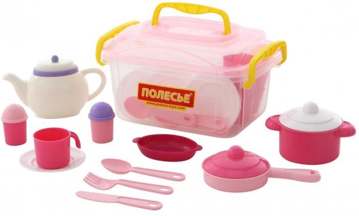 Полесье Набор детской посуды Настенька на 6 персон (39 элементов)