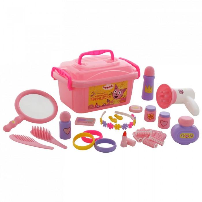 Фото - Ролевые игры Полесье Набор Три Кота Принцессы (в контейнере) полесье набор игрушек для песочницы 468 цвет в ассортименте