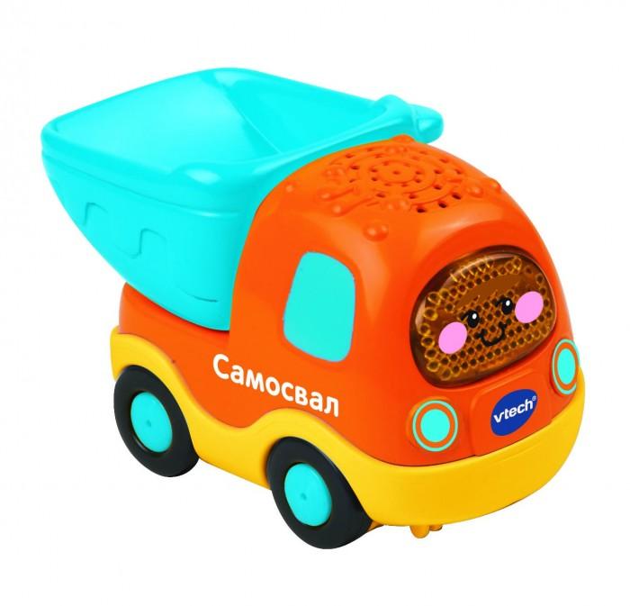 Машины Vtech Бип-Бип Toot-Toot Drivers Самосвал машинка vtech бип бип toot toot drivers 80 180326 27 5 см голубой