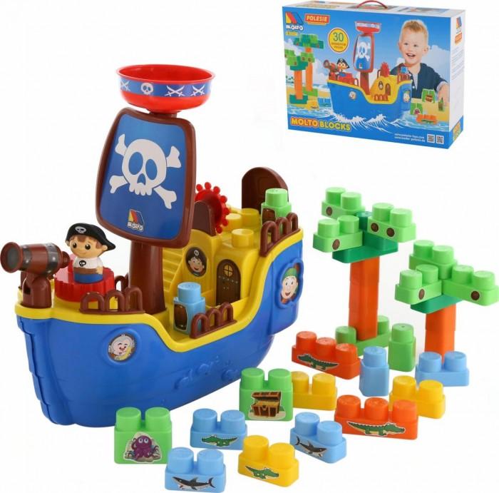 Полесье Набор Пиратский корабль и конструктор (30 элементов)